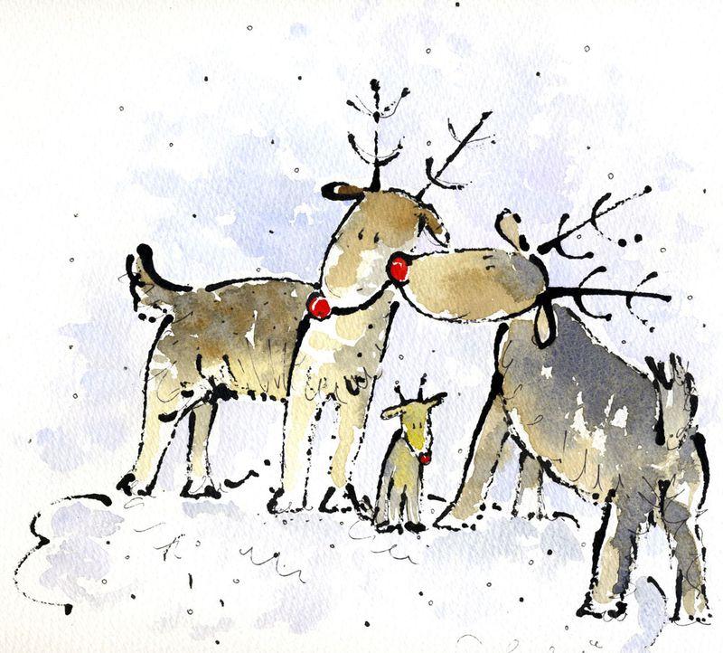 Reindeer Family 2