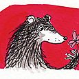 Bear & Flower Card