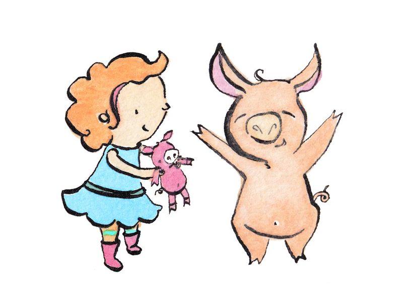 Rachel Boulton. Pig