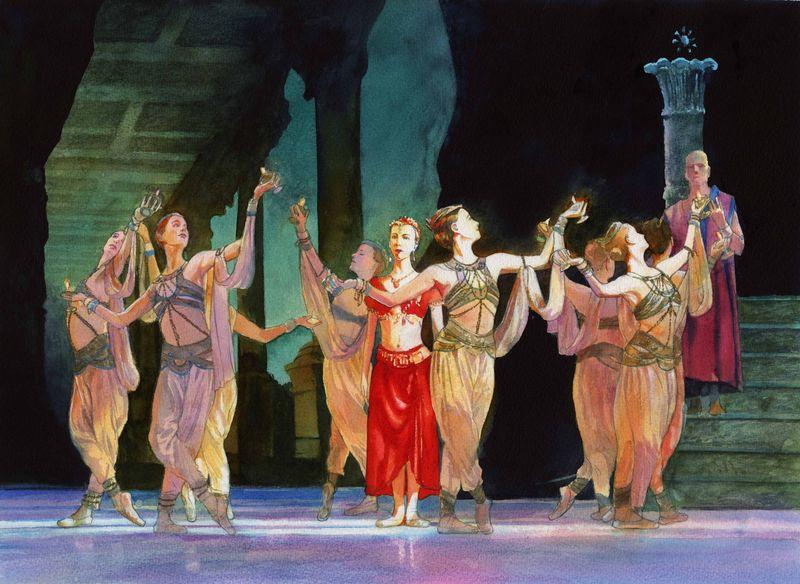 Alan Marks. Ballet La Bayadere