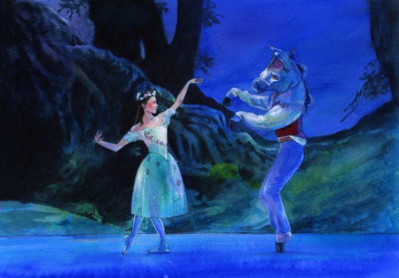 Alan Marks. Ballet The Dream