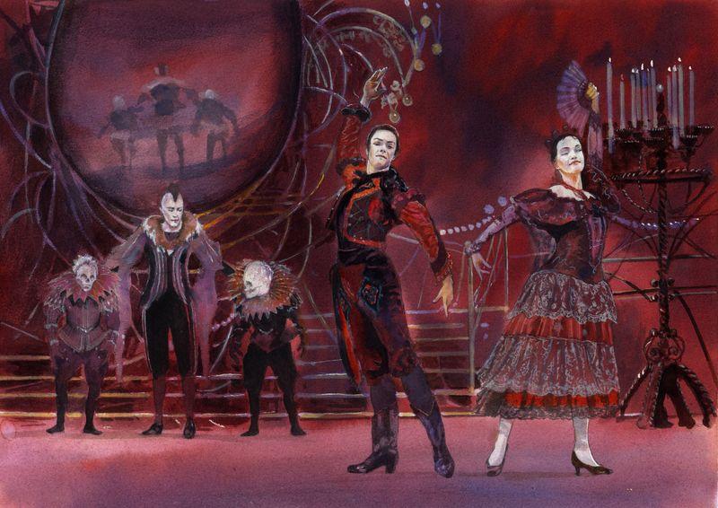 Alan Marks. Ballet Swan Lake 51