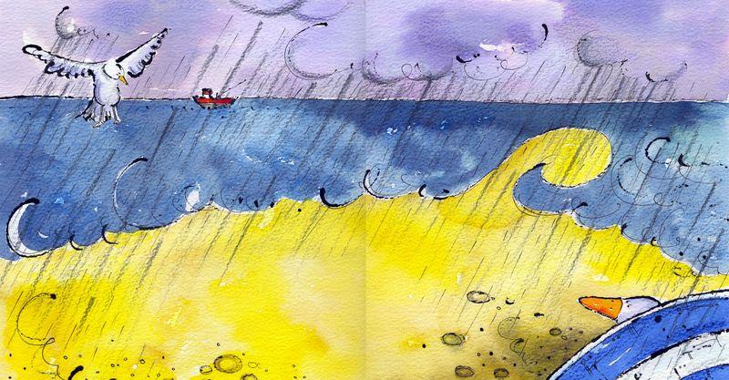 Jill Latter. Winter beach