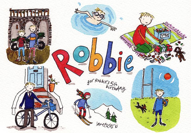 Jane Eccles. Robbie Card