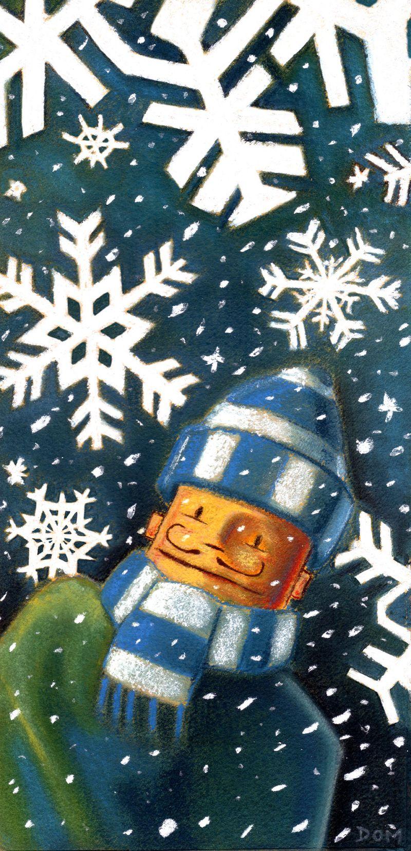 Donough O'Malley. snowflakes