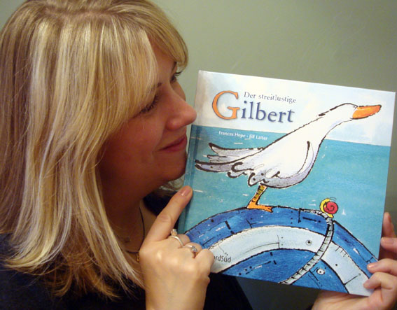 Jill Latter. Gilbert the Gander book cover