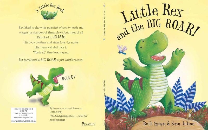 Sean Julian.Little Rex and the Big Roar. Pic 1