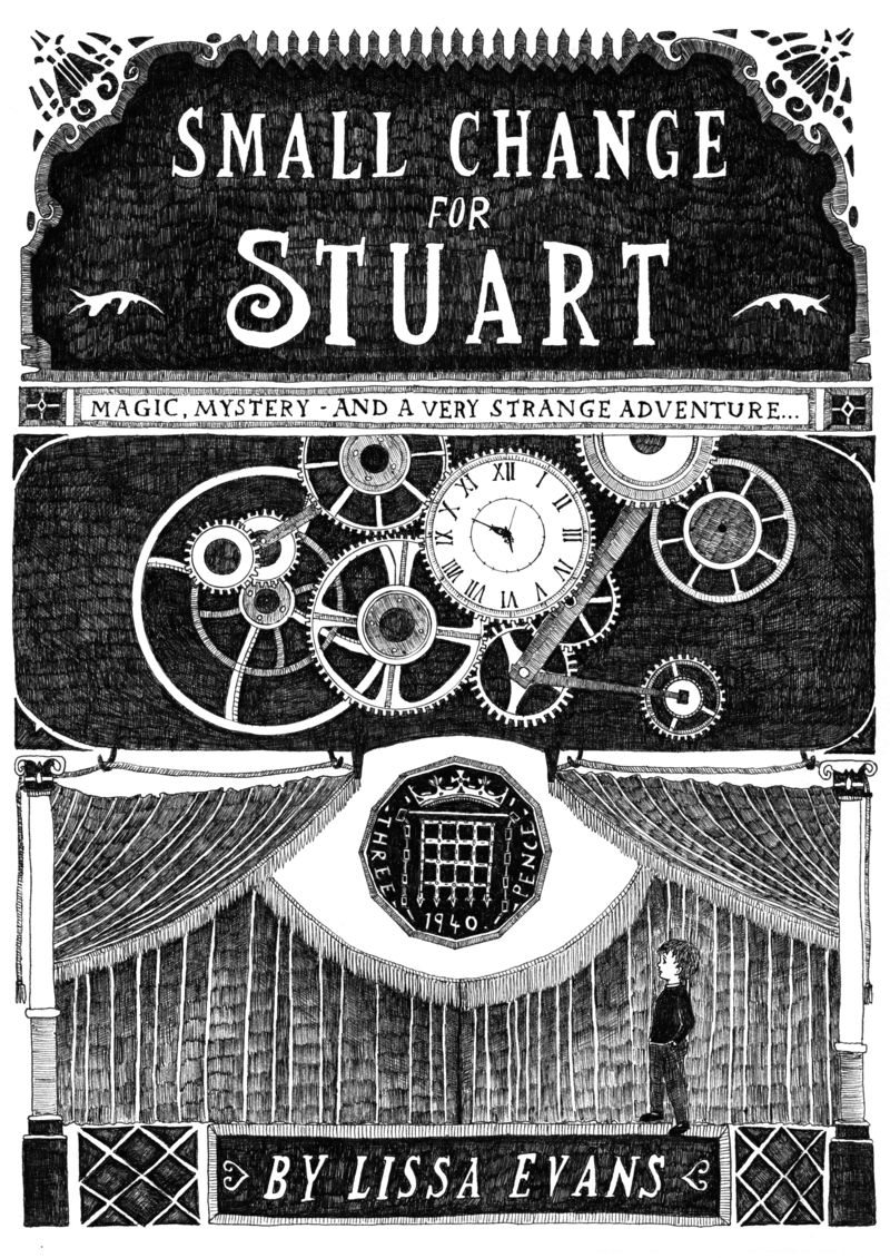 Temujin Doran. Small Change for Stuart. Cover