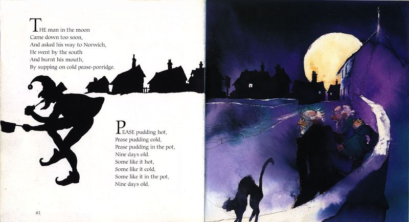 Alan Marks. Nursery Rhymes. Man in the Moon