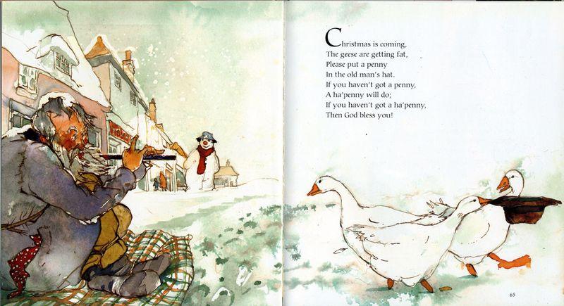 Alan Marks. Nursery Rhymes. Christmas is Coming