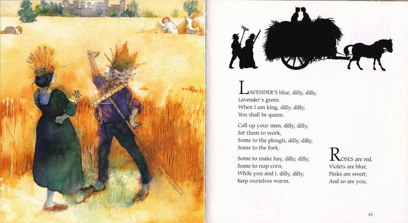 Alan Marks.Nursery Rhymes. Lavender's Blue