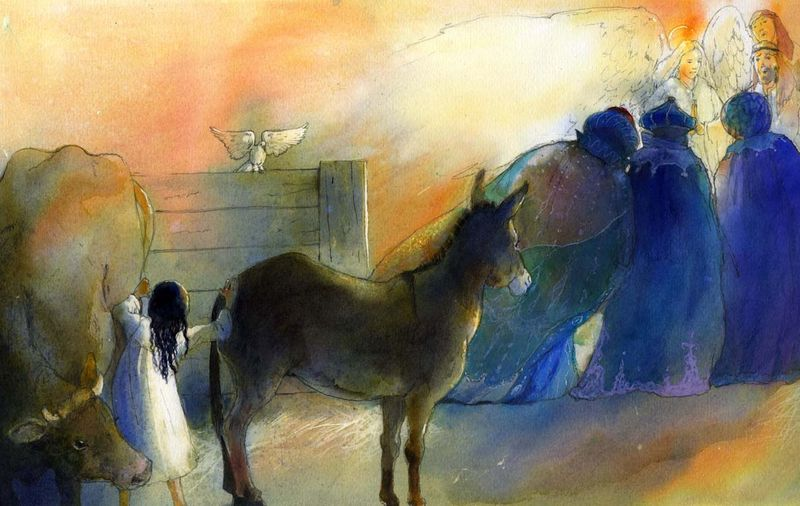 Alan Marks.The Shepherd Girl of Bethlehem.4