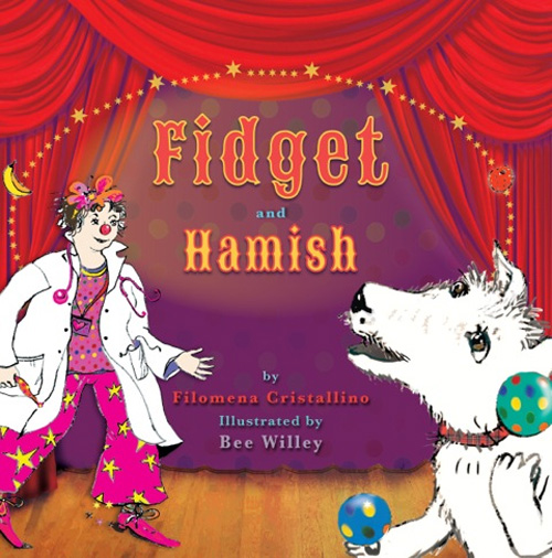 Fidget and Hamish Bee Willey