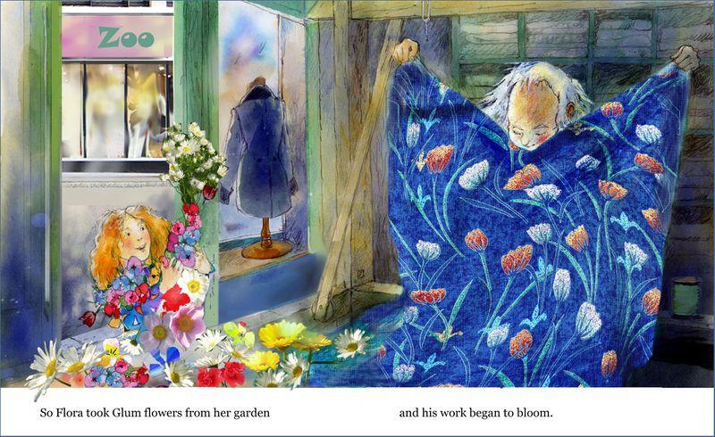 Glum the Weaver flowers