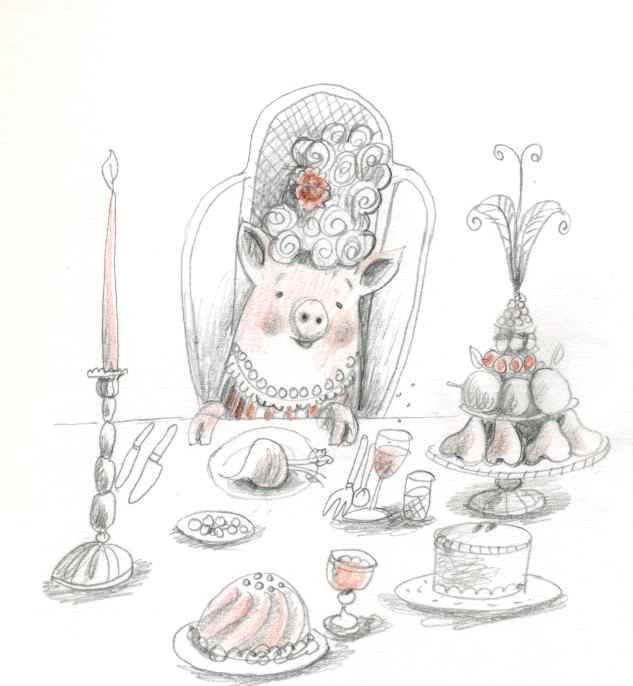 Festive Pig